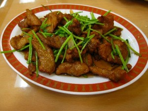 Twice Cooked Pork
