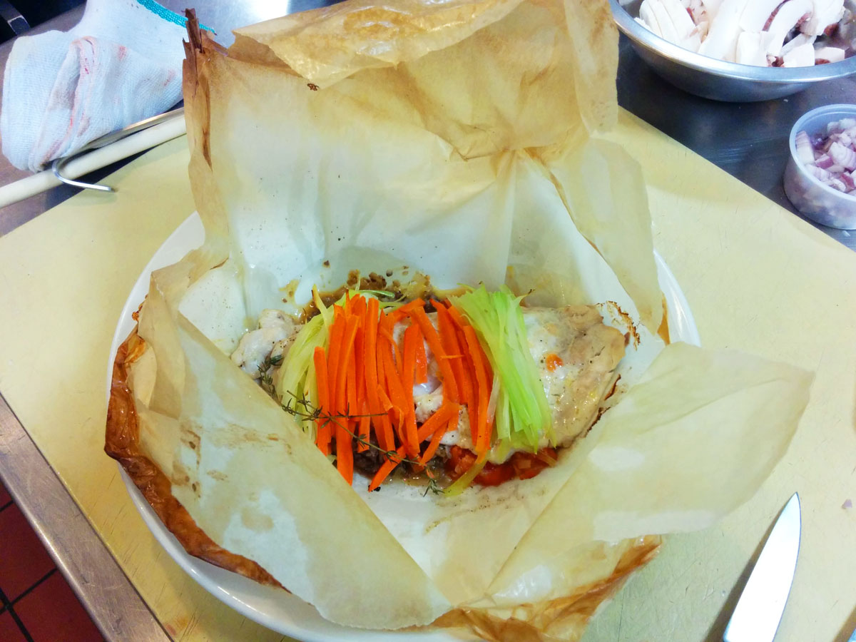 Papillote Fish in Parchment Paper