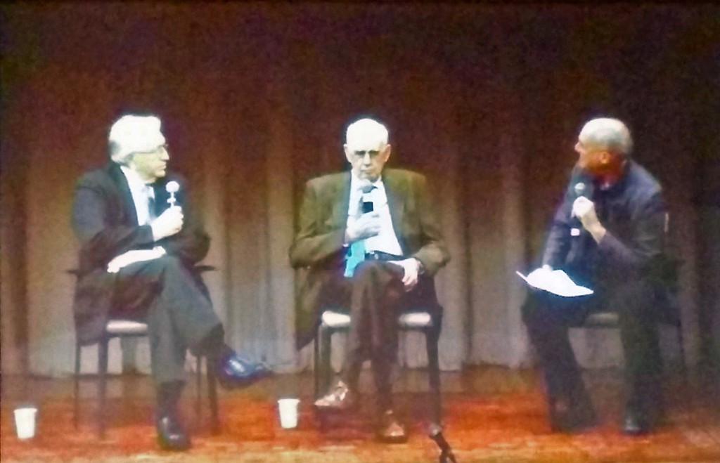 Wes Jackson, Wendell Berry, Mark Bittman at Cooper Union