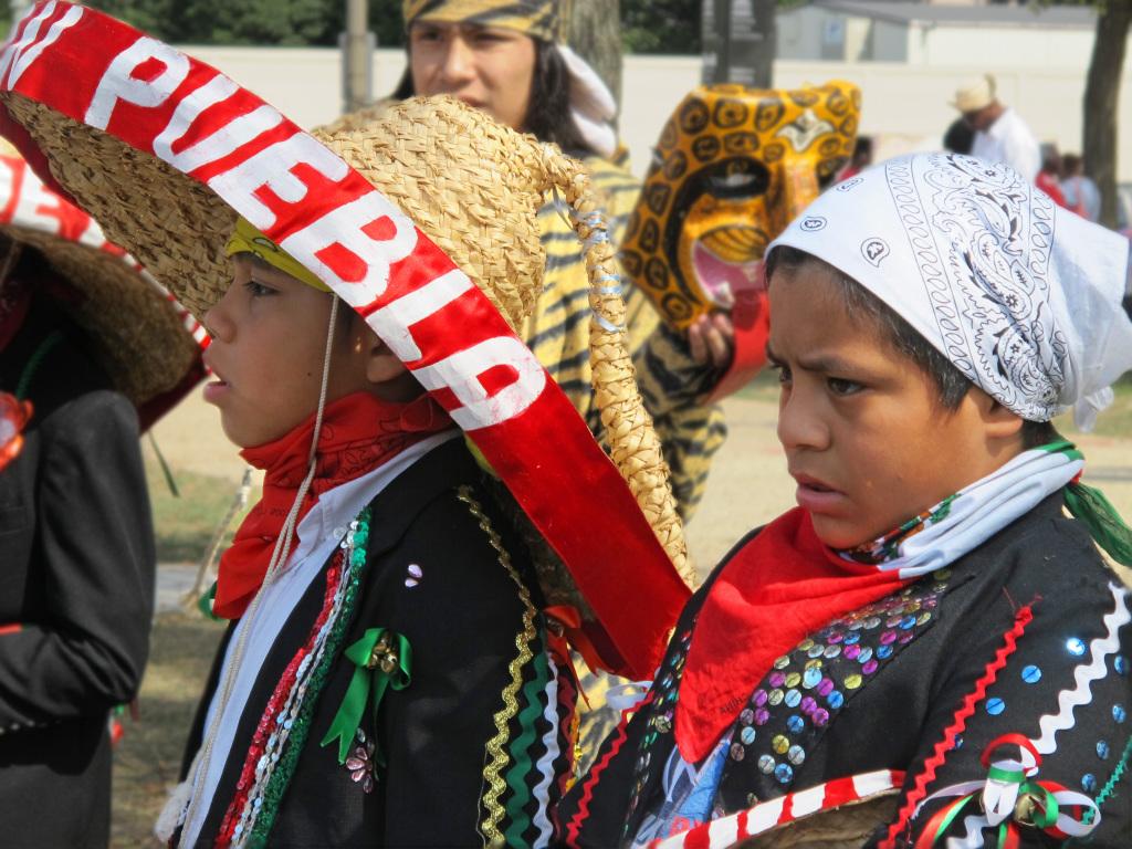 Puebla parade