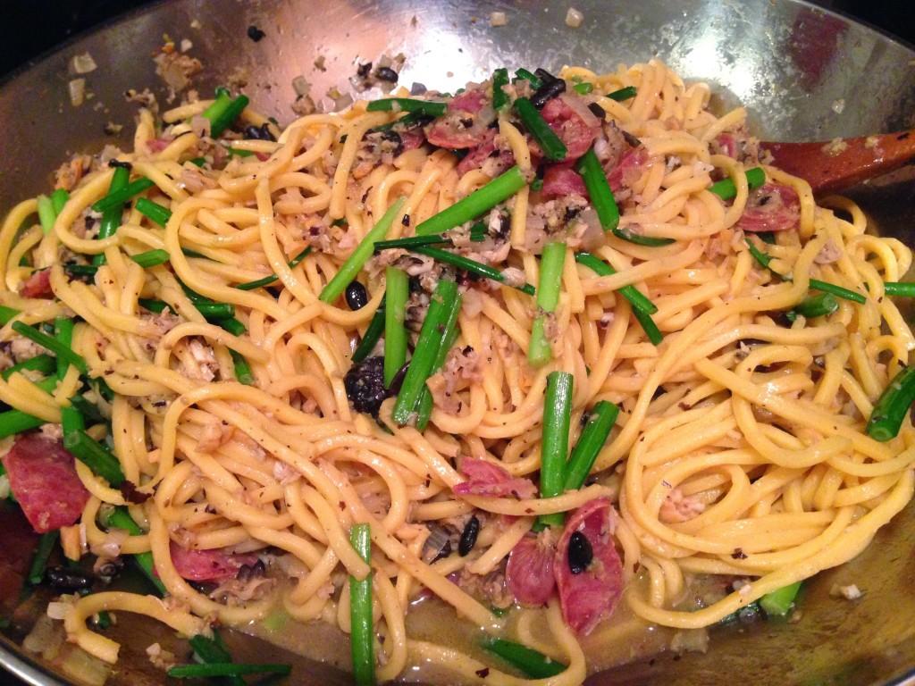 Noodles in Wok